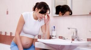 Тошнота беременной