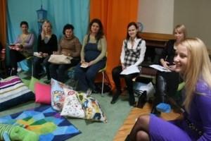 Беременные на лекции